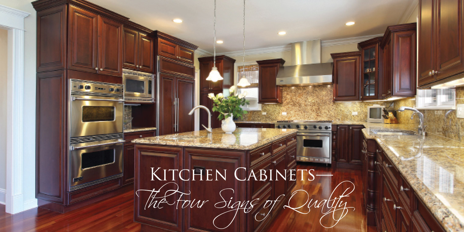 Kitchen Cabinets Quality kitchen cabinets — the four signs of quality – vivareston
