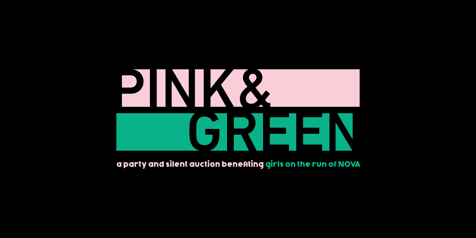 Pink & Green - a party and silent auction benefiting girls on the run of NOVA