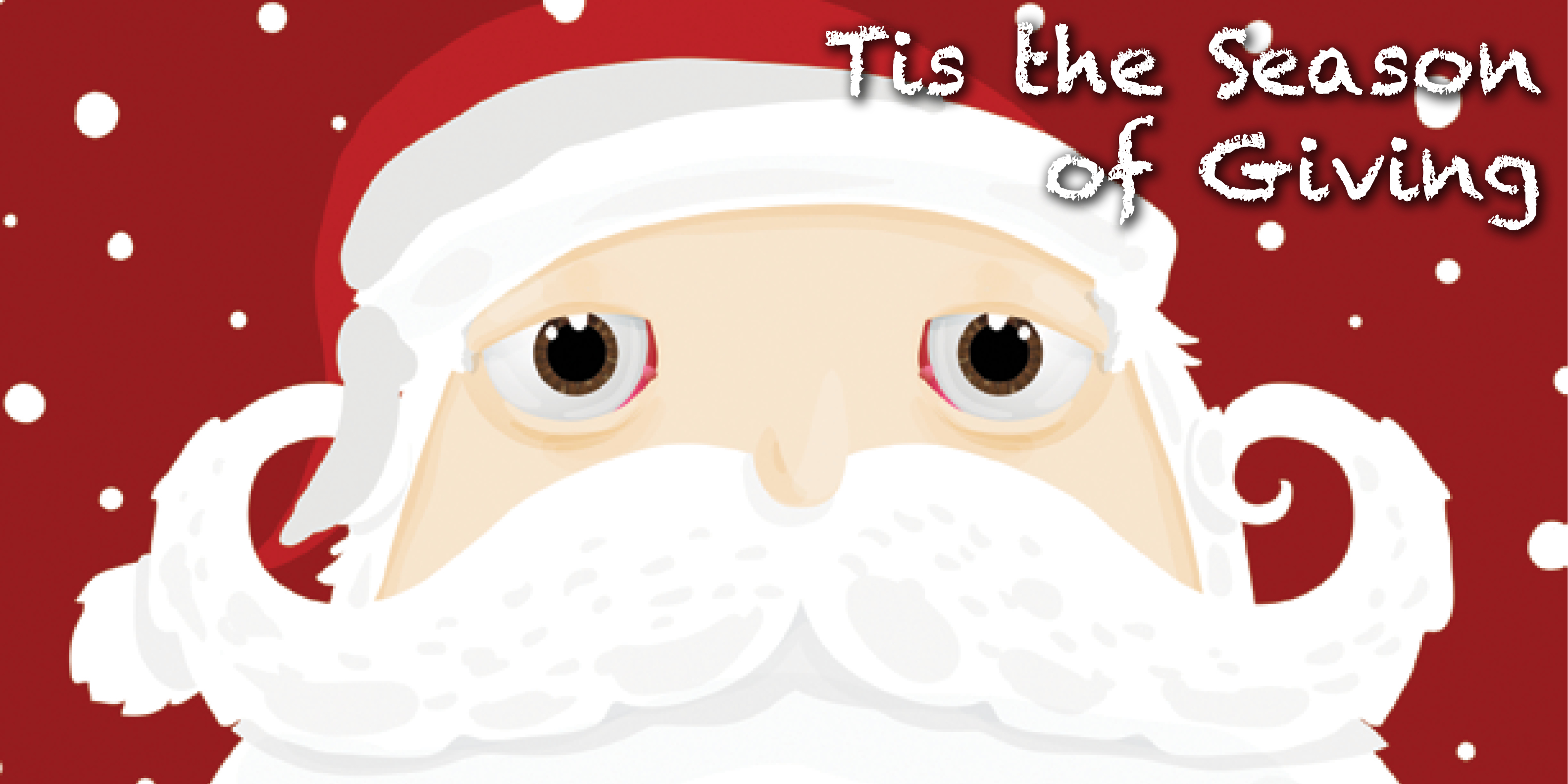 Tis the Season of Giving Santa
