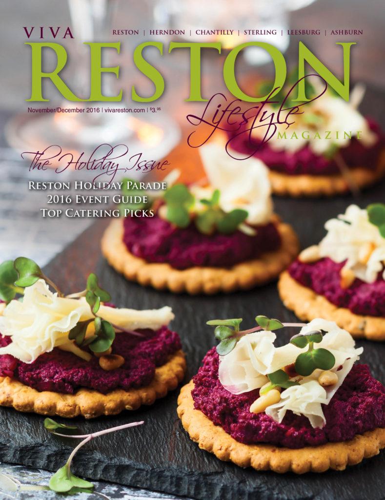 VivaReston November/December 2016 cover