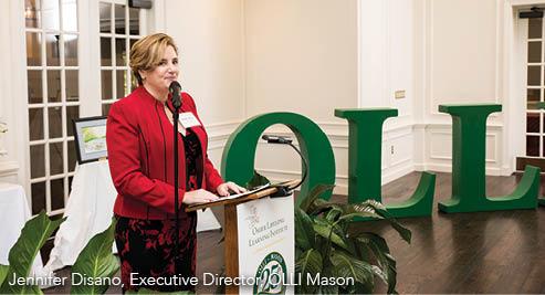 Jennifer Disano, Executive Director, OLLI Mason