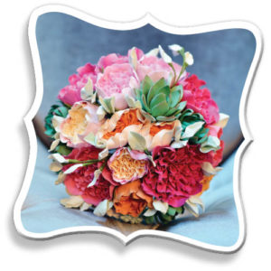 Karin's Florist wedding bouquet