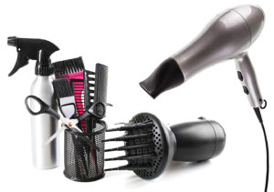 beauty salon tools