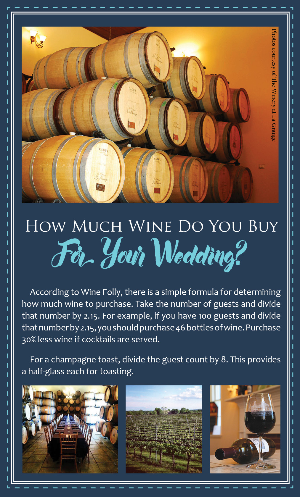 Red Or White? A Guide For Choosing Your Wedding Wines