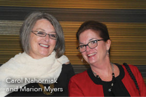 Carol Nahorniak and Marion Myers