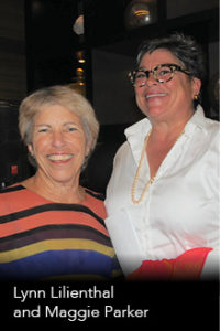 Lynn Lilienthal and Maggie Parker