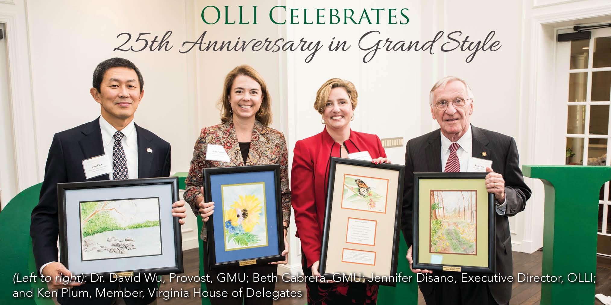 OLLI Celebrates 25th Anniversary
