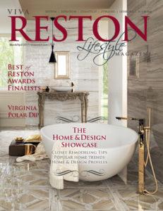 2017 March/April VivaReston LIfestyle Magazine cover