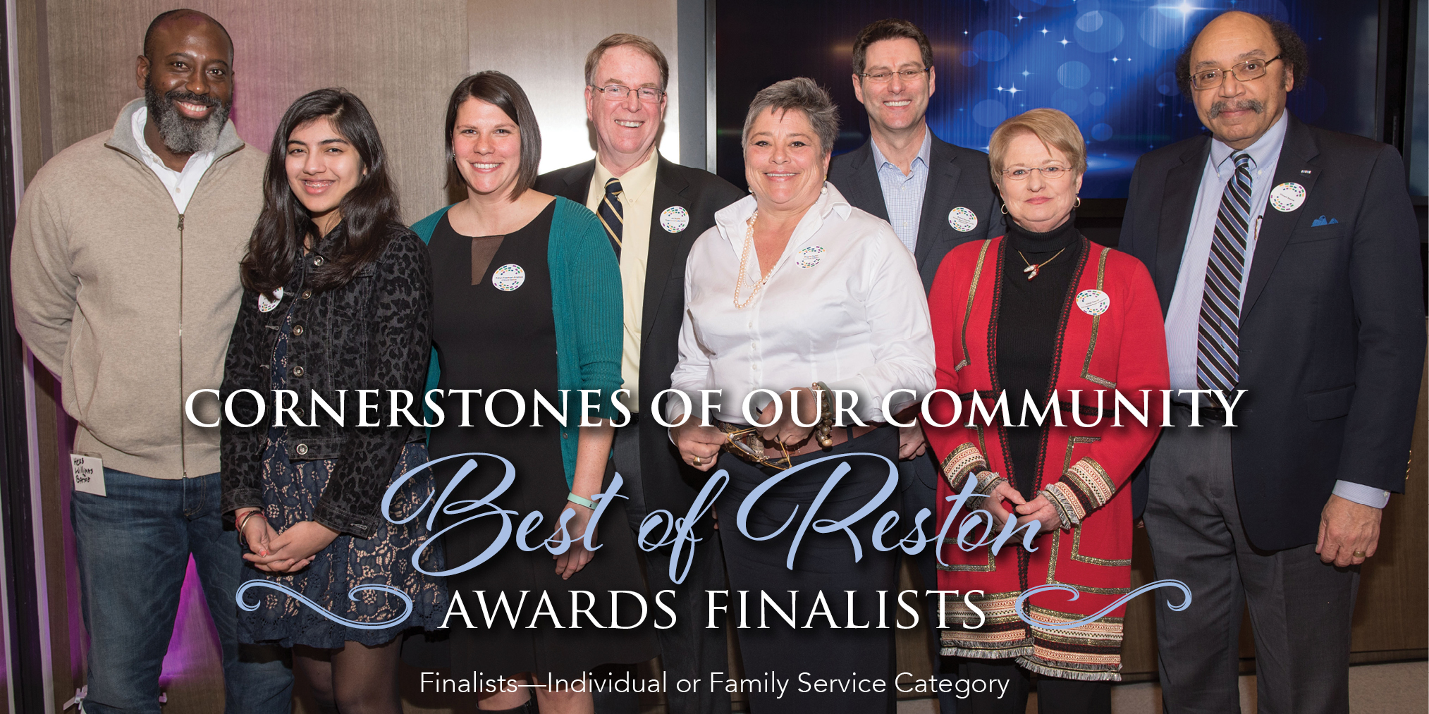 Cornerstones Of Our Community Best of Reston Awards Finalists - Finalists—Individual or Family Service Category