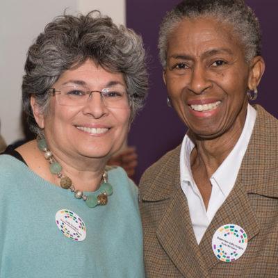 Leila Gordon, Reston Community Center and Hunter Mill Supervisor Cathy Hudgins