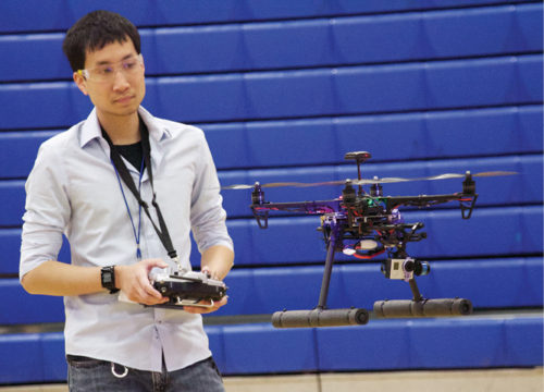 Chris Vo of DC Area Drone User Group