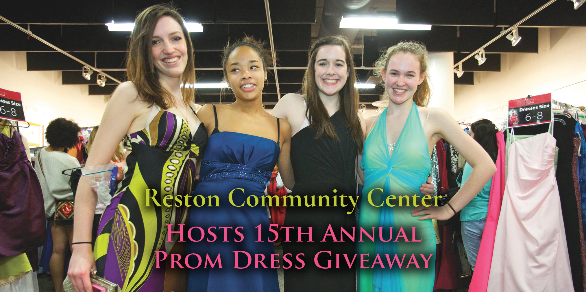 Reston Community Center Hosts 15th Annual Prom Dress Giveaway