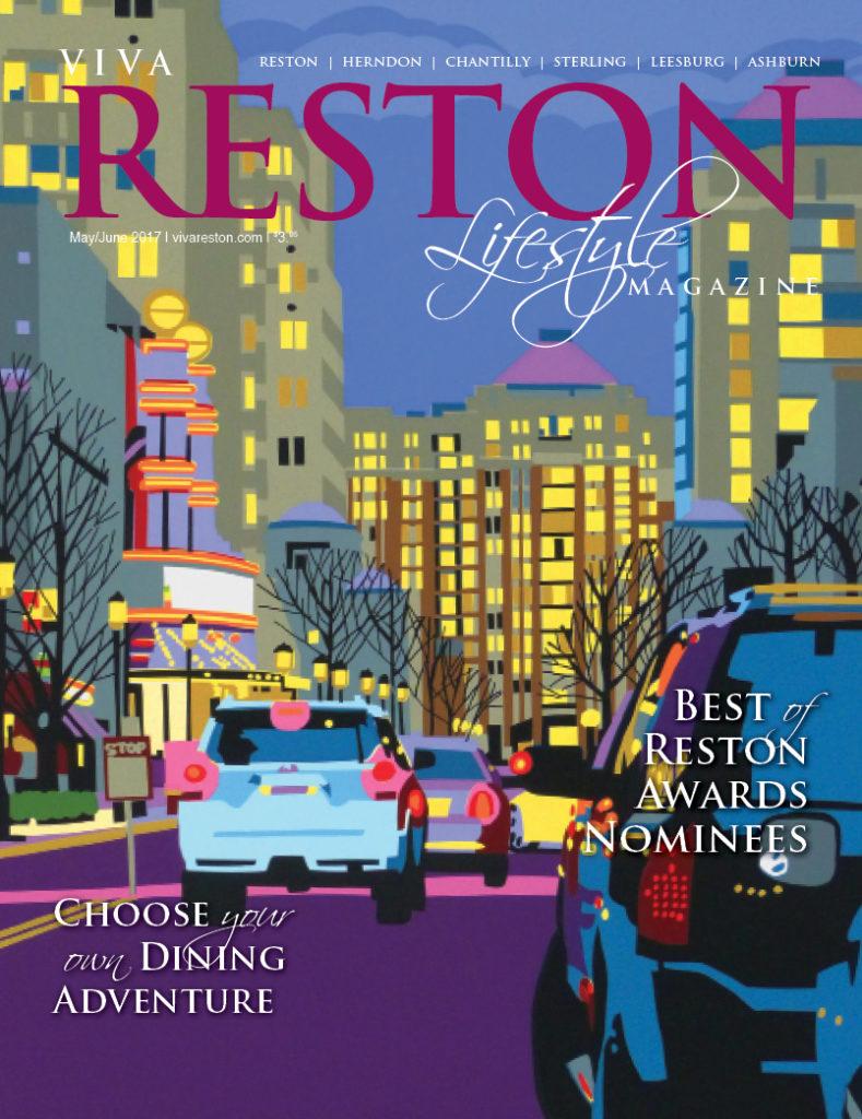 May/June 2017 VivaReston Lifestyle Magazine cover