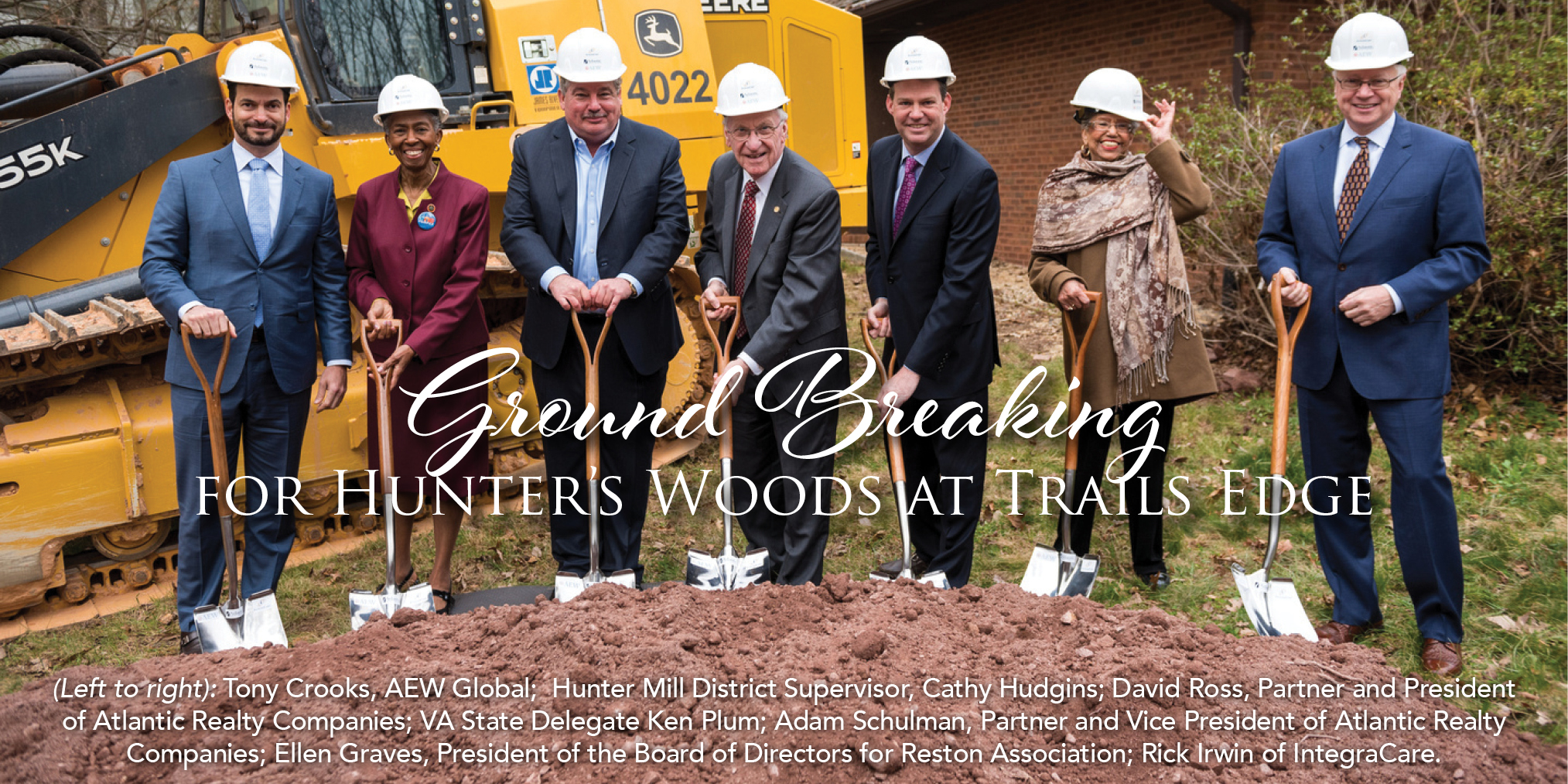 Ground Breaking for Hunter's Woods at Trails Edge