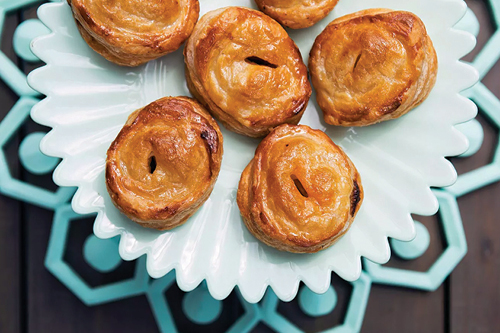 Pastelitos from the Colada Shop are Caribbean-style pastries filled with tropical flavors ranging from sweet to savory: guava, guava and cheese, sweet cream cheese, picadillo-Cuban meat pie.