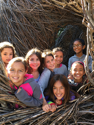 Patrick Dougherty's Bird in hand has become a key spot for the community