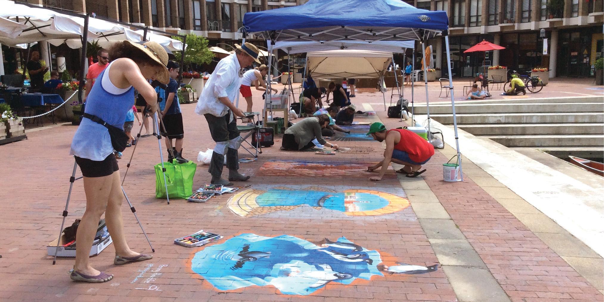 Lake Anne Chalk Festival