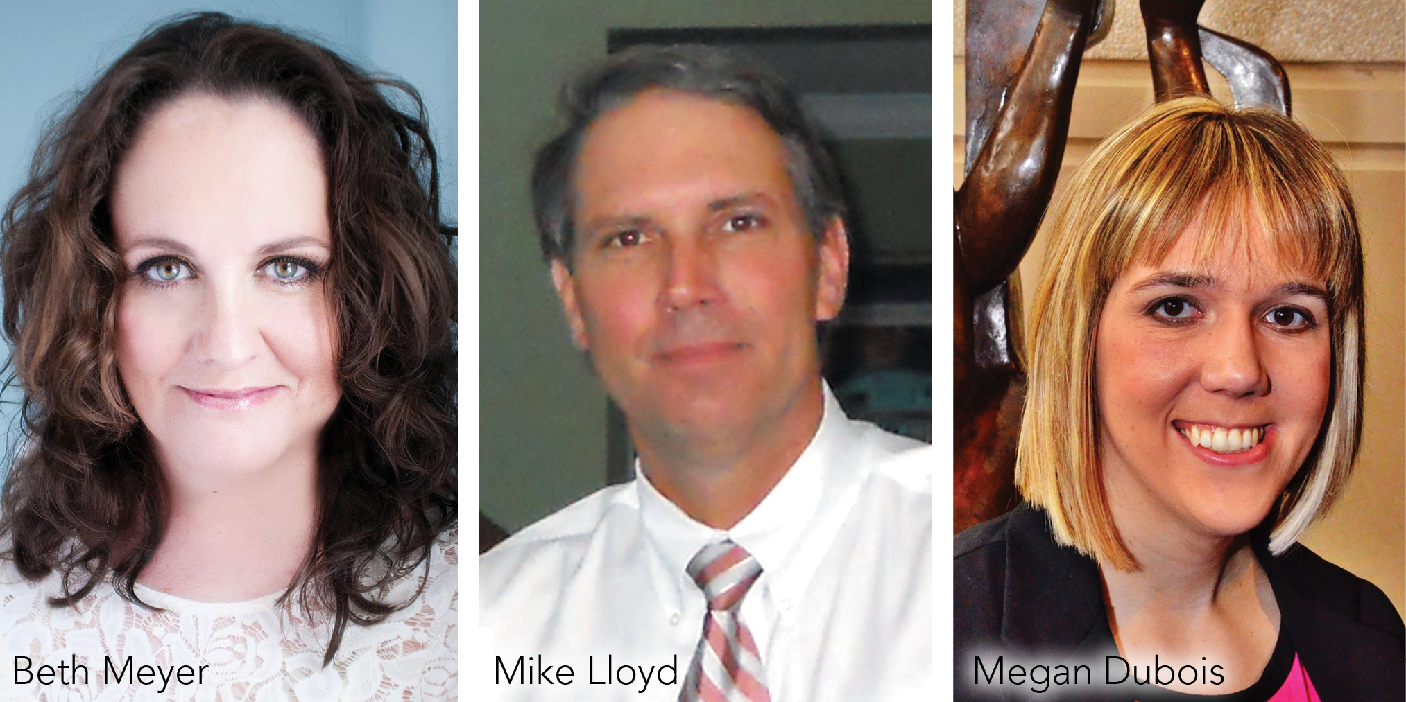 Arts Herndon New Directors: Beth Meyer, Mike Lloyd, Megan Dubois