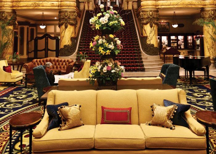 Lobby of the Jefferson Hotel