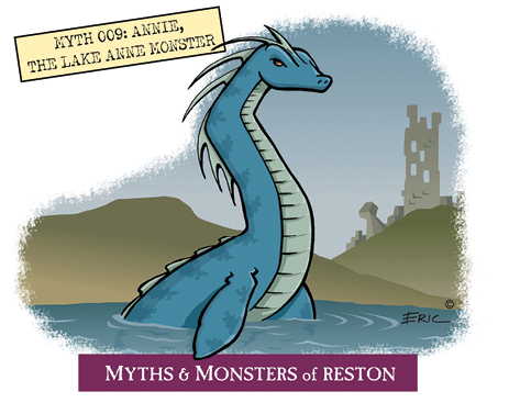 Myths and Monsters Annie the Lake Monster