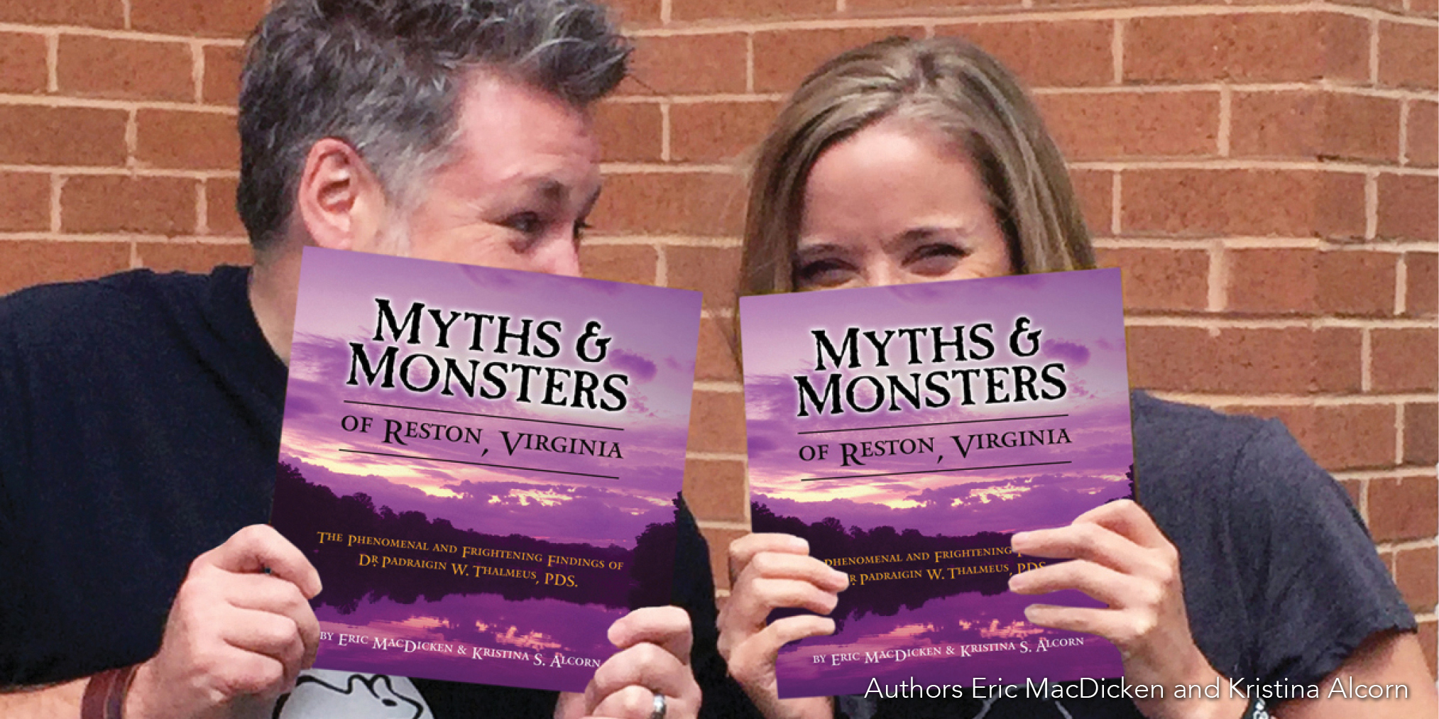 Myths and Monster authors Eric MacDicken and Kristina Alcorn