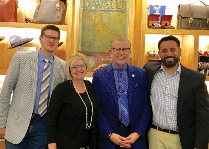 David Eisele, Jr, Lynn and David Eisele, Sr. and Hussein Rassoul
