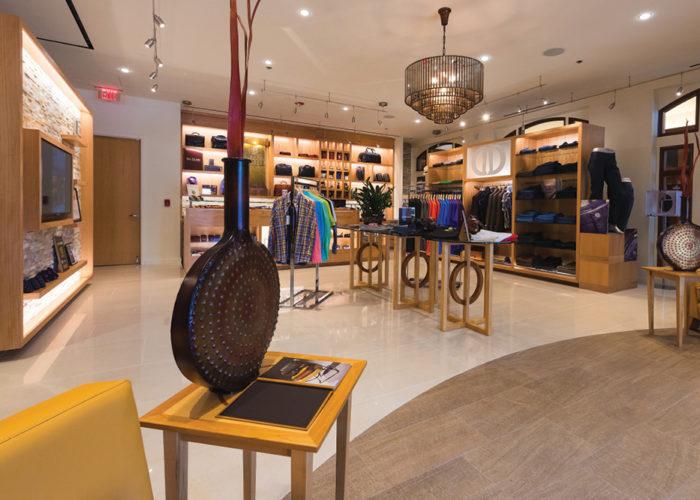Davelle Clothiers interior