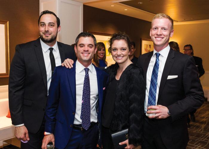 Warren Weixler, Cofounder and CEO, SWATCHROOM; Ryan Miller, First Vice President, CBRE; Abbey Slitor, Director of Marketing, Kiddar Capital; Ross Litkenhous, Senior Director, Altus Group