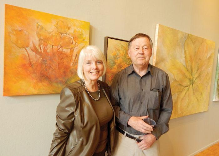 Pat Macintyre and her husband, Steve Macintyre