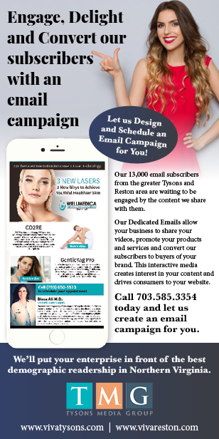 Engage, Delight and Convert our subscribers with an email campaign. Call 703.585.3354 today.